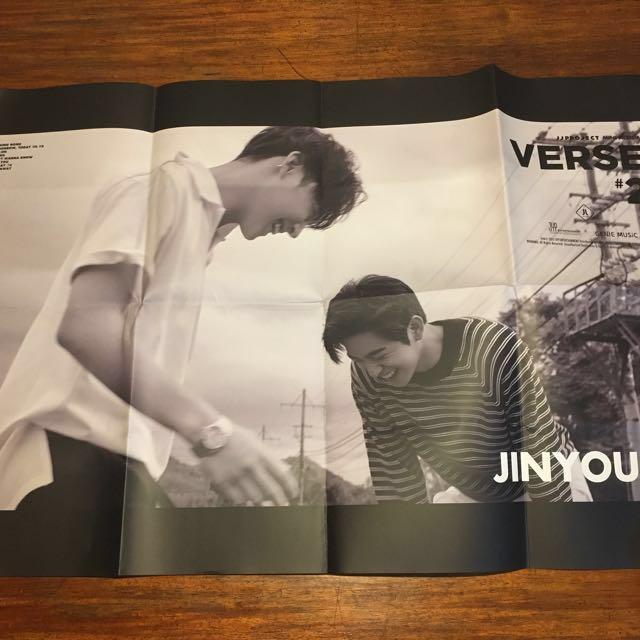 JJP Verse 2 Poster - folded