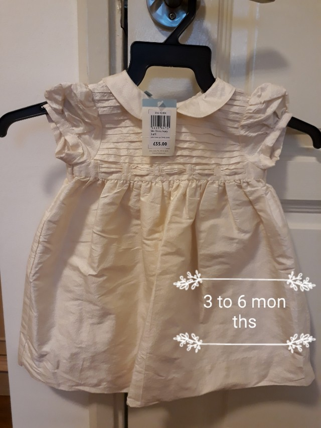 33205ce6be14 John lewis baby girl dress 3 to 6months