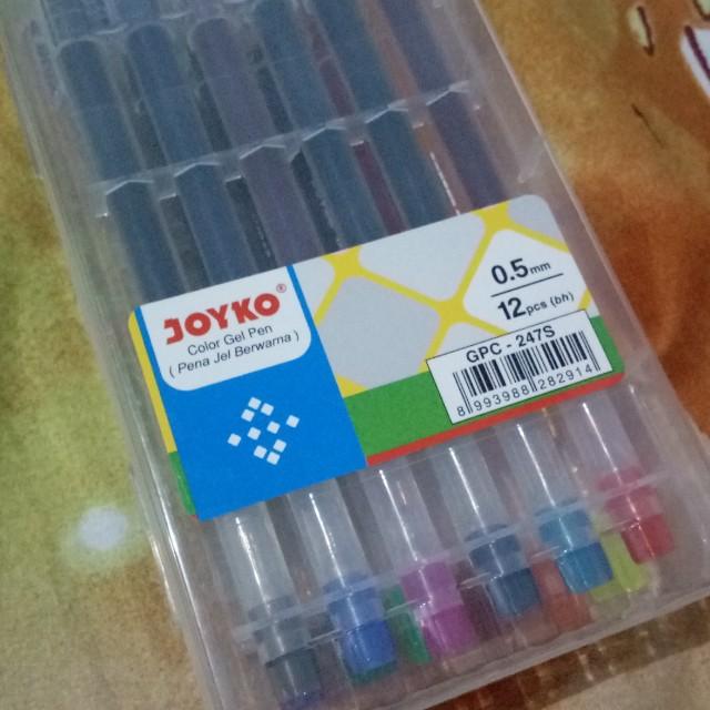 Joyko colour gel pen