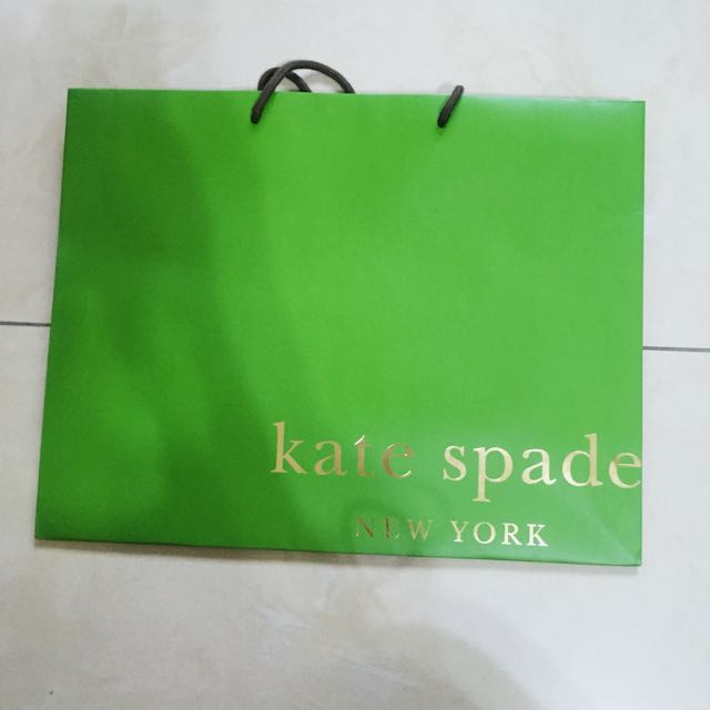 Kate spade 紙袋 提袋 名牌紙袋 精品提袋