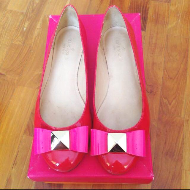Kate spade tula flat shoes