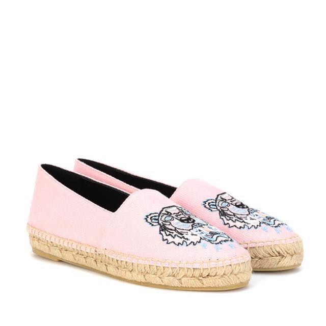 Kenzo espadrilles in light pink (Size  Euro 37) d81dc0616