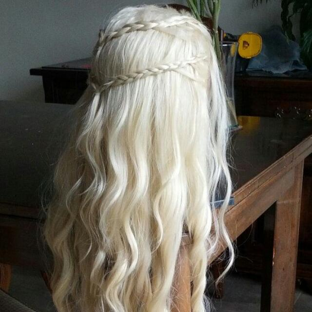 Khalessi, Game Of Thrones Lace Front Wig