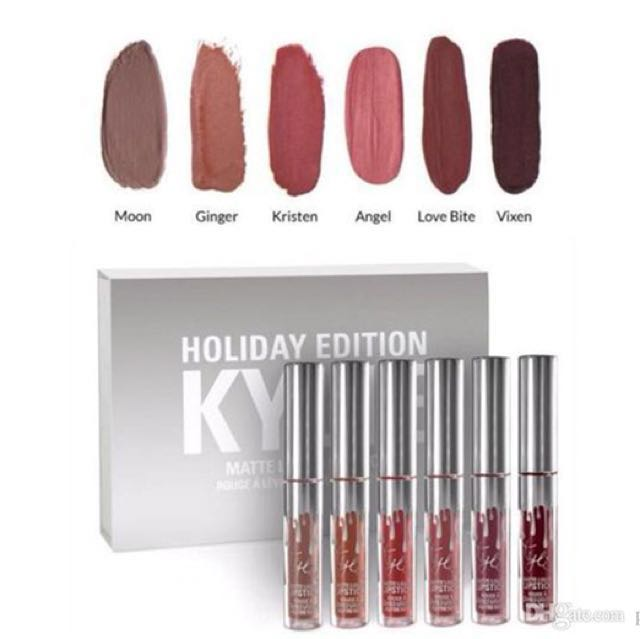 Kylie Mini Matte Holiday Edition