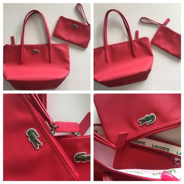 Lacoste Bag & Pouch - GUC