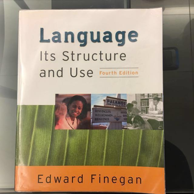 免費自取Language - Its Structure and Use