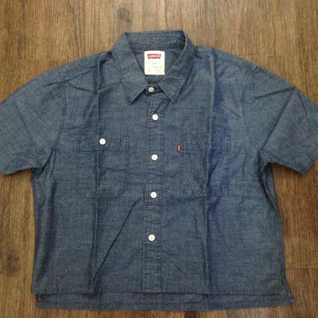 LEVIS Cropped Shirt (Kemeja Menggantung)