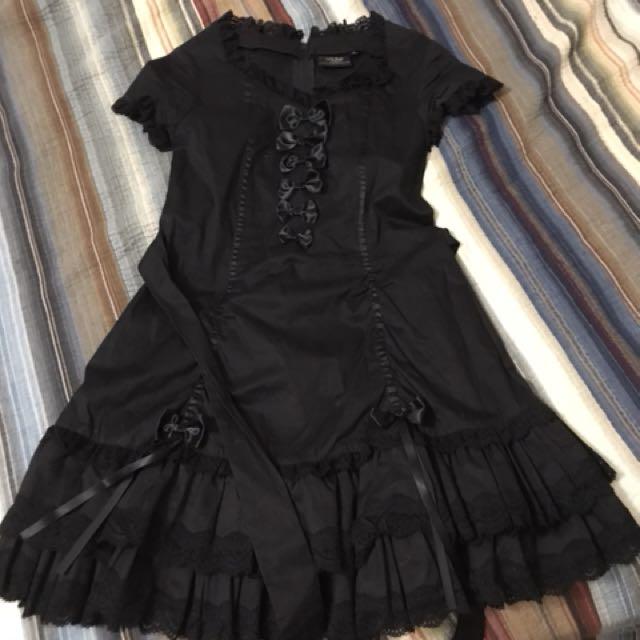"""Living Dead Dolls"" brand dress lolita"
