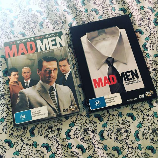 Madmen DVDs