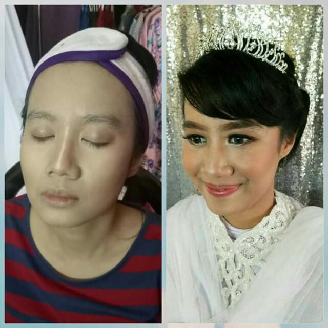 Makeup photoshoot prewedding
