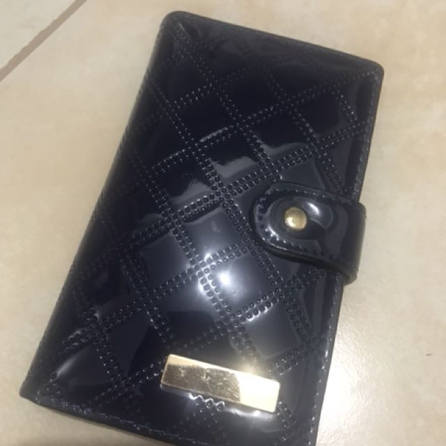 Navy Blue Wallet (no zipper for the coin holder)