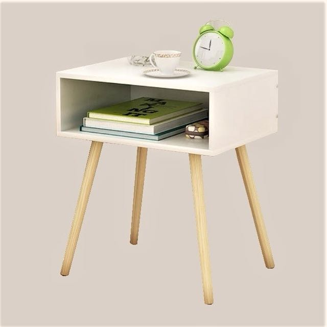 New 1-Tier Bedside Table