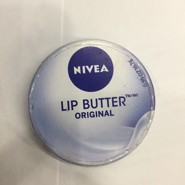[NEW] Nivea Lip Butter - Original