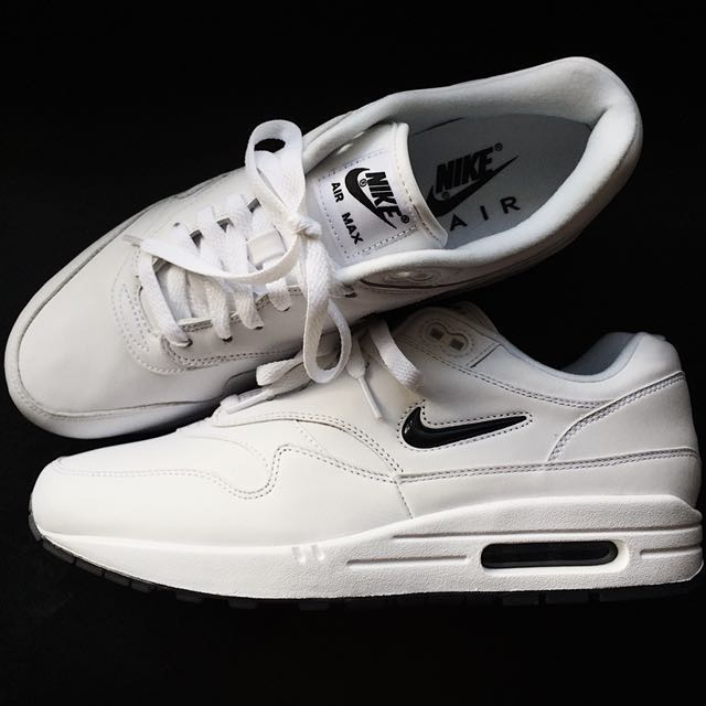 2ab760e9e7 ... canada nike air max 1 premium sc jewel black diamond colourway mens  fashion footwear on carousell
