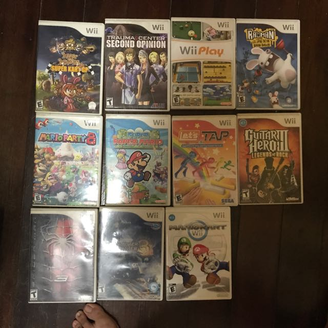 NINTENDO WII TITLES 11 Games