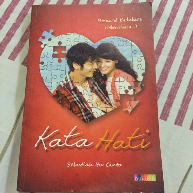 novel: kata hati