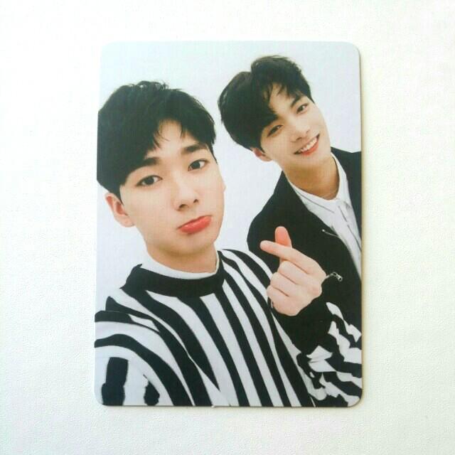 NU'EST W W.HERE JR X Aron Unit Photocard
