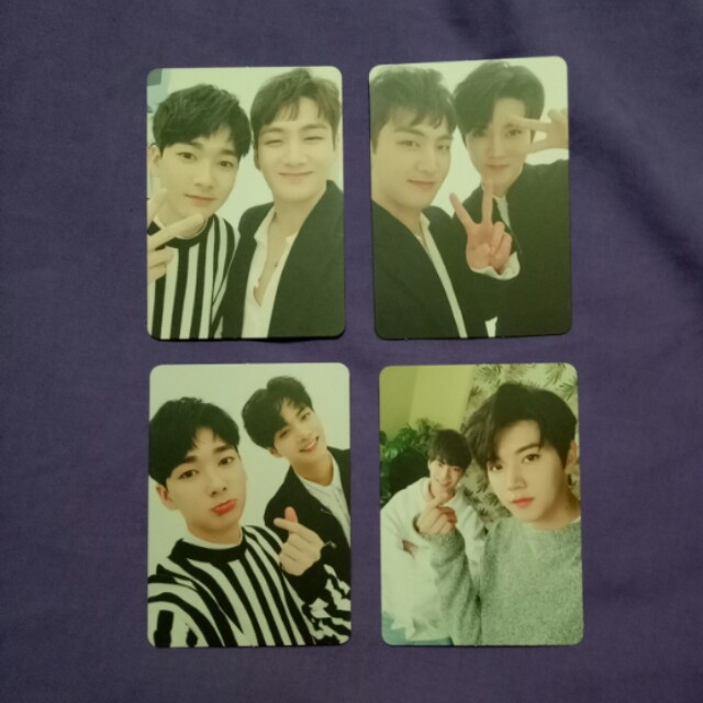 NU'EST-W W,here Unit Photocard Set