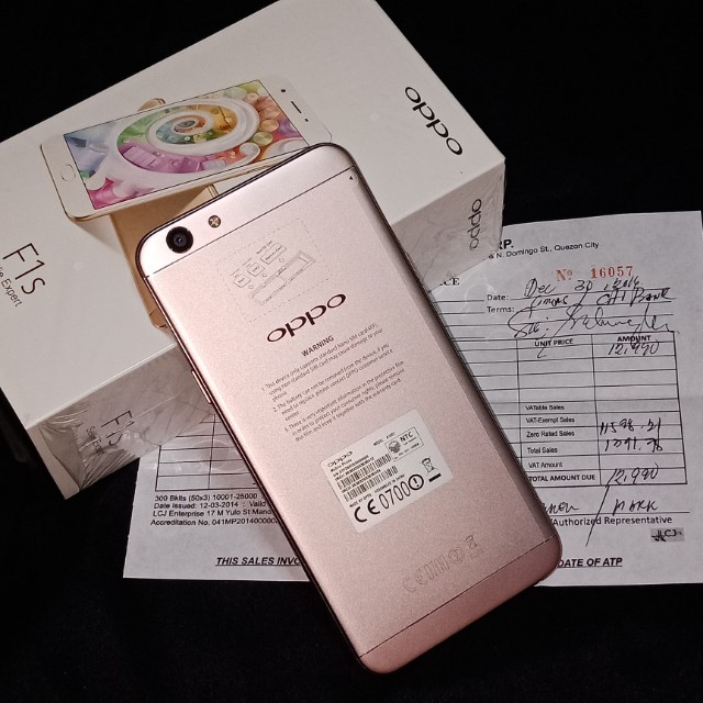 OPPO F1s RUSH for sale ROSEGOLD