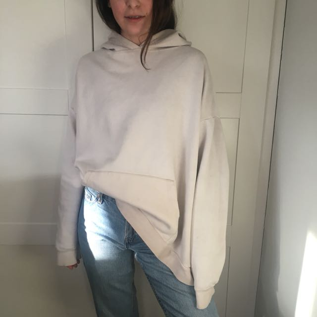 Oversized ombre hoodie women's m/l