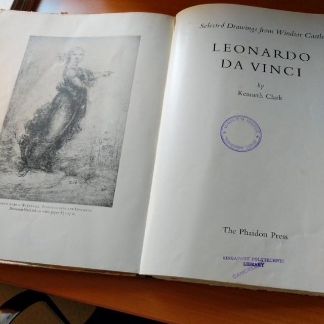 Phaidon 1954 selected leonardo da vinci drawings from windsir castle photo photo solutioingenieria Image collections