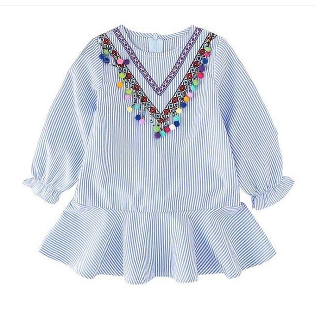 Pompoms Dress Kids