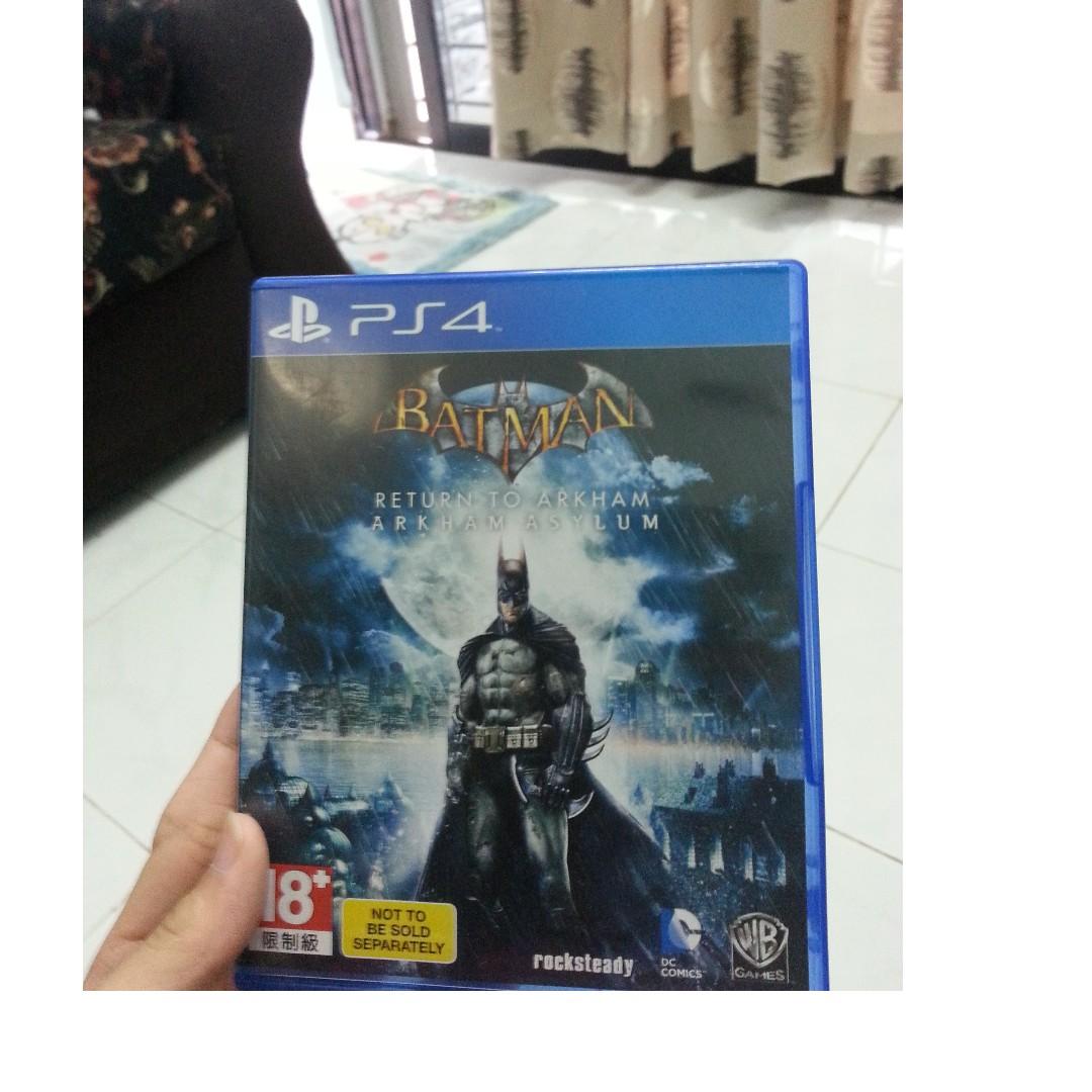Ps4 Used Game Batman Video Gaming Games On Carousell Return To Arkham Asylum Reg 3 Photo