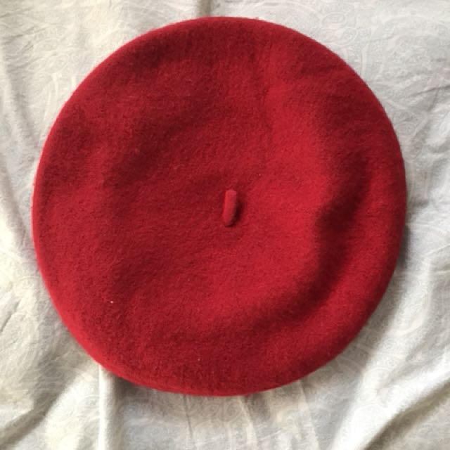 "Red ""In Your Dreams"" Beret"