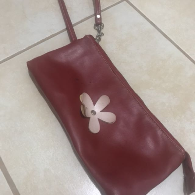 Red Purse (with many pockets inside)