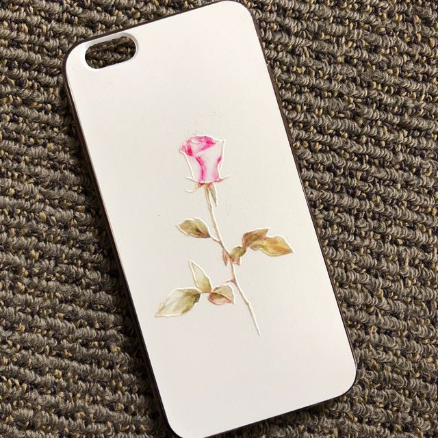 Rose inspired iPhone 6/6s case