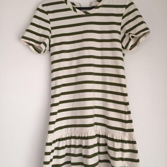 RUBY BOUTIQUE striped dress - size 6