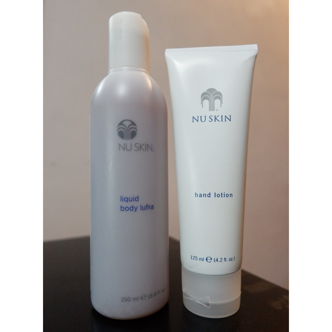 Sale ! NU lufra and hand lotion