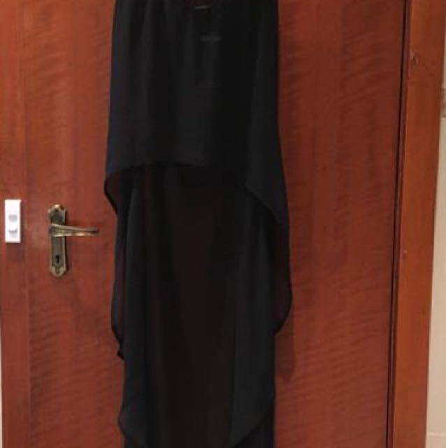 See through maxi skirt