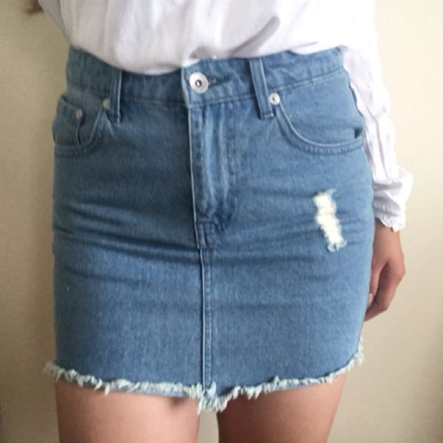 Seed Heritage Denim Skirt