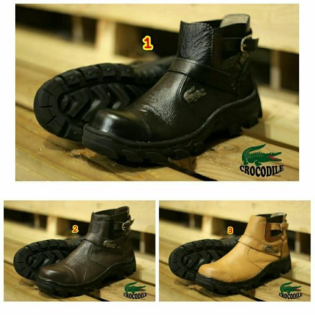 Sepatu boots pria kulit keren safety terbaru 2018 murah trend branded 3bad1d6b09