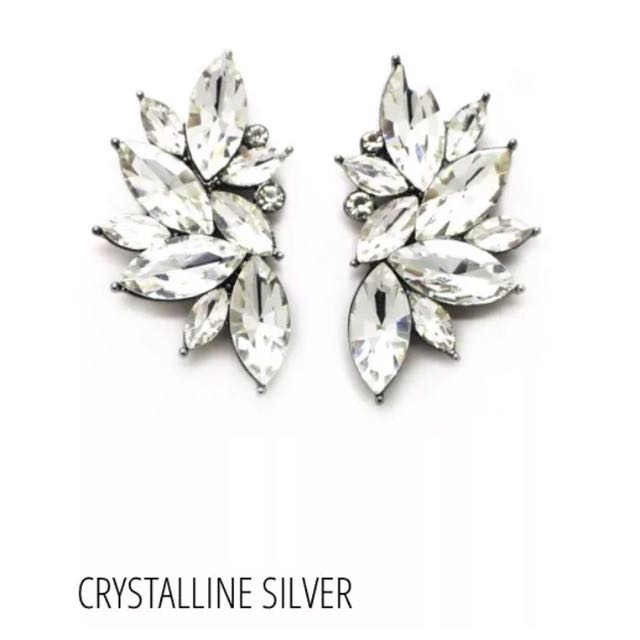 Sienna Elizabeth 'Crystalline' Swarovski Couture Earrings
