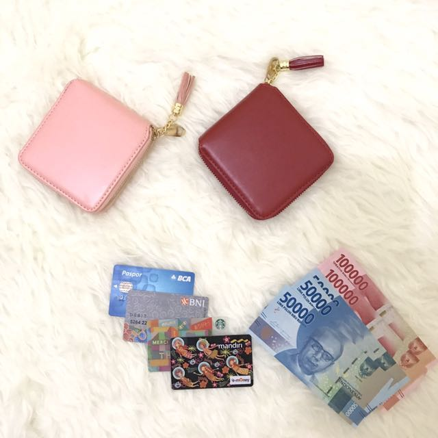 Square Fringe Wallet