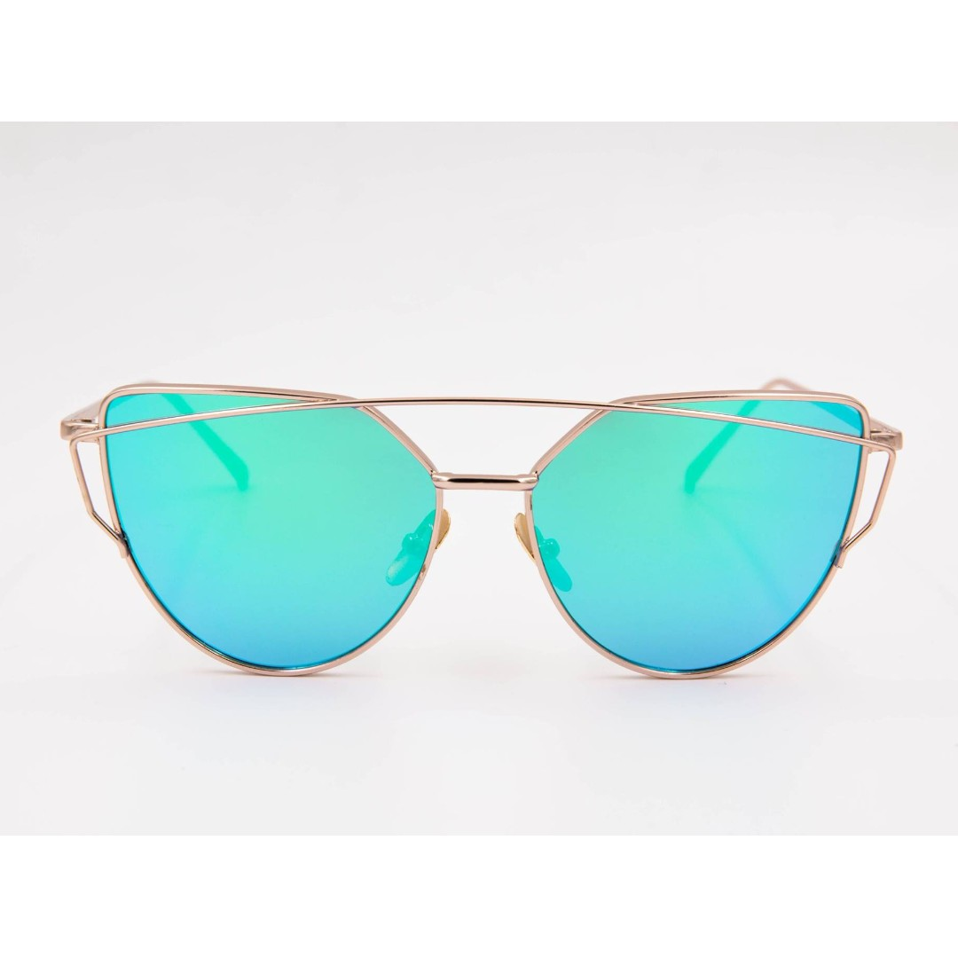 Style 002: Blue Green Sunglasses