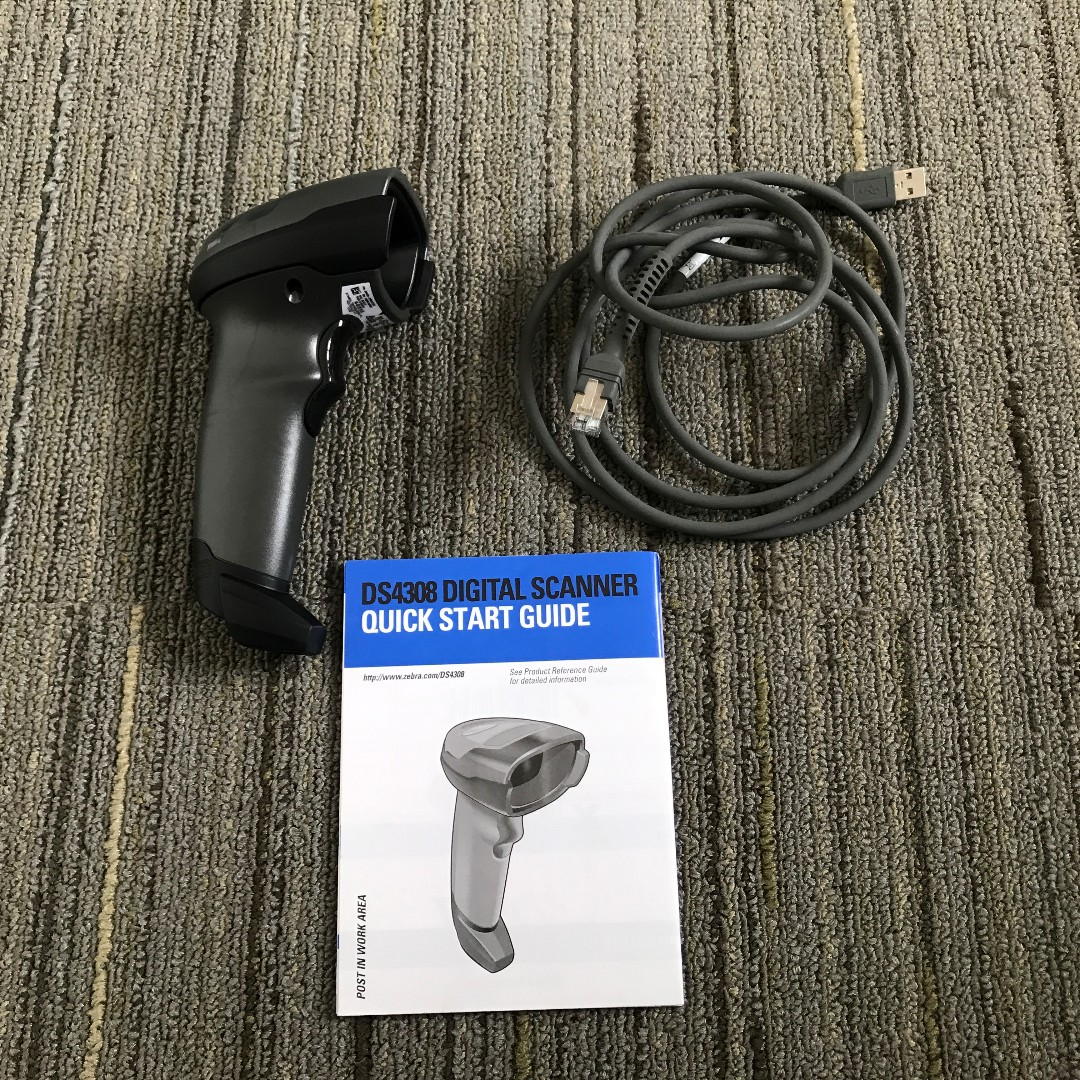 SYMBOL DS4308 HANDHELD SCANNER, Electronics, Others on Carousell