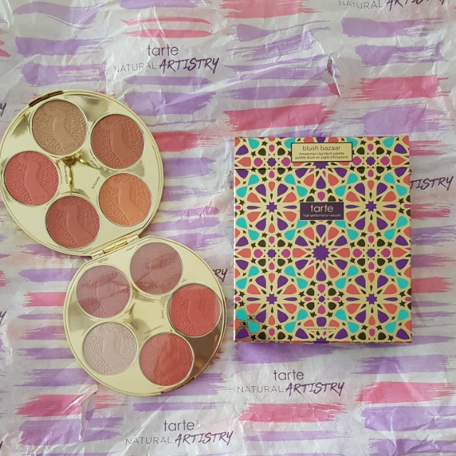 Tarte Blush Bazaar Book