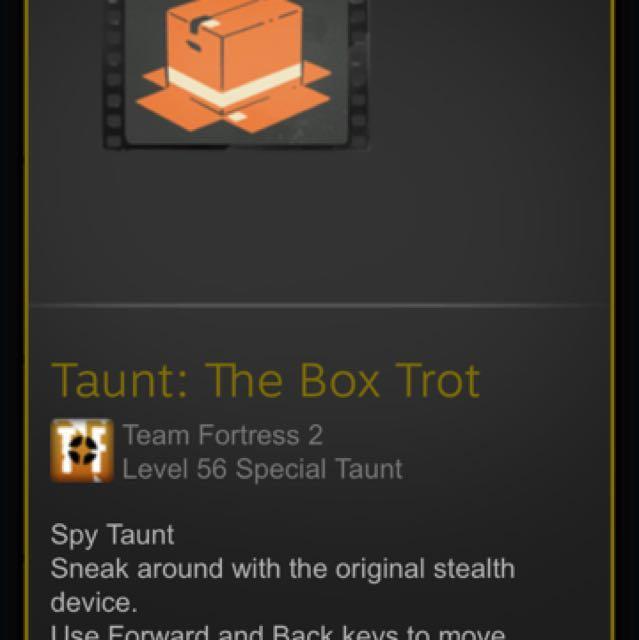 TF2:Spy taunt(BOXTROT)