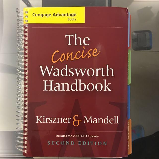 免費自取The Concise Wadsworth Handbook