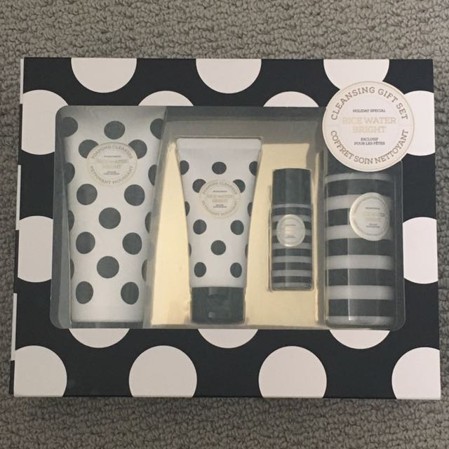 The Face Shop: Rice Water Bright Cleansing Gift Set