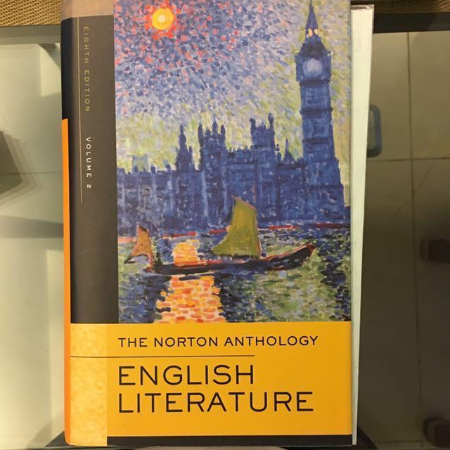免費自取The Norton Anthology of English Literature