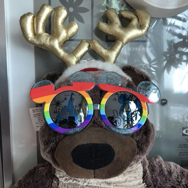 🌈Tokyo Disney Resort rainbow sunglasses
