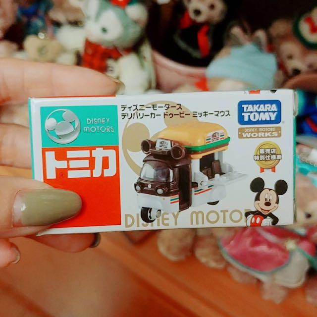 Tomica 迪士尼車車 7-11日本限定
