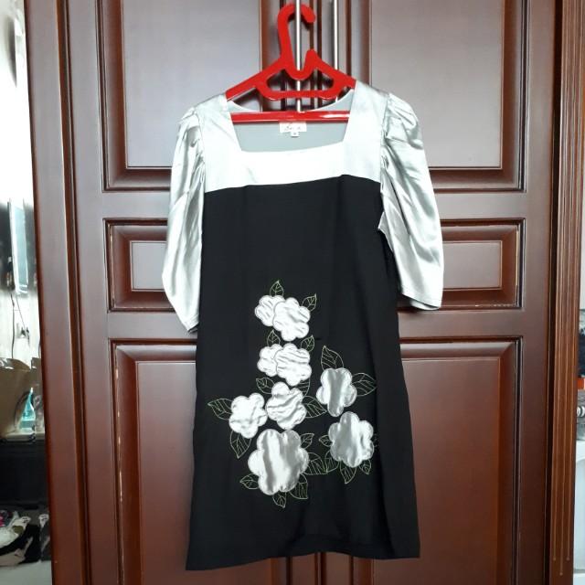 Twotone dress
