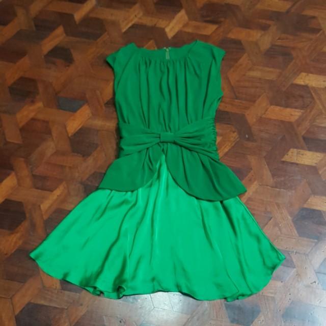 Tyler Green Bow Dress (EUR 38)
