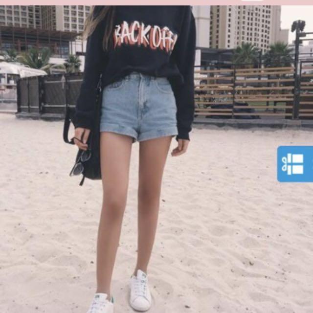 Ulzzang Denim Shorts