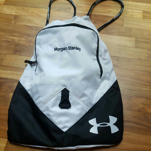 Under Armour draw string bag - Morgan Stanley cobranded